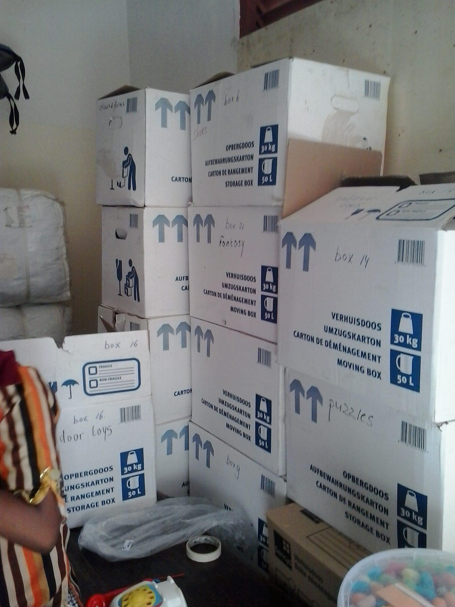 21 dozen naar Kenia