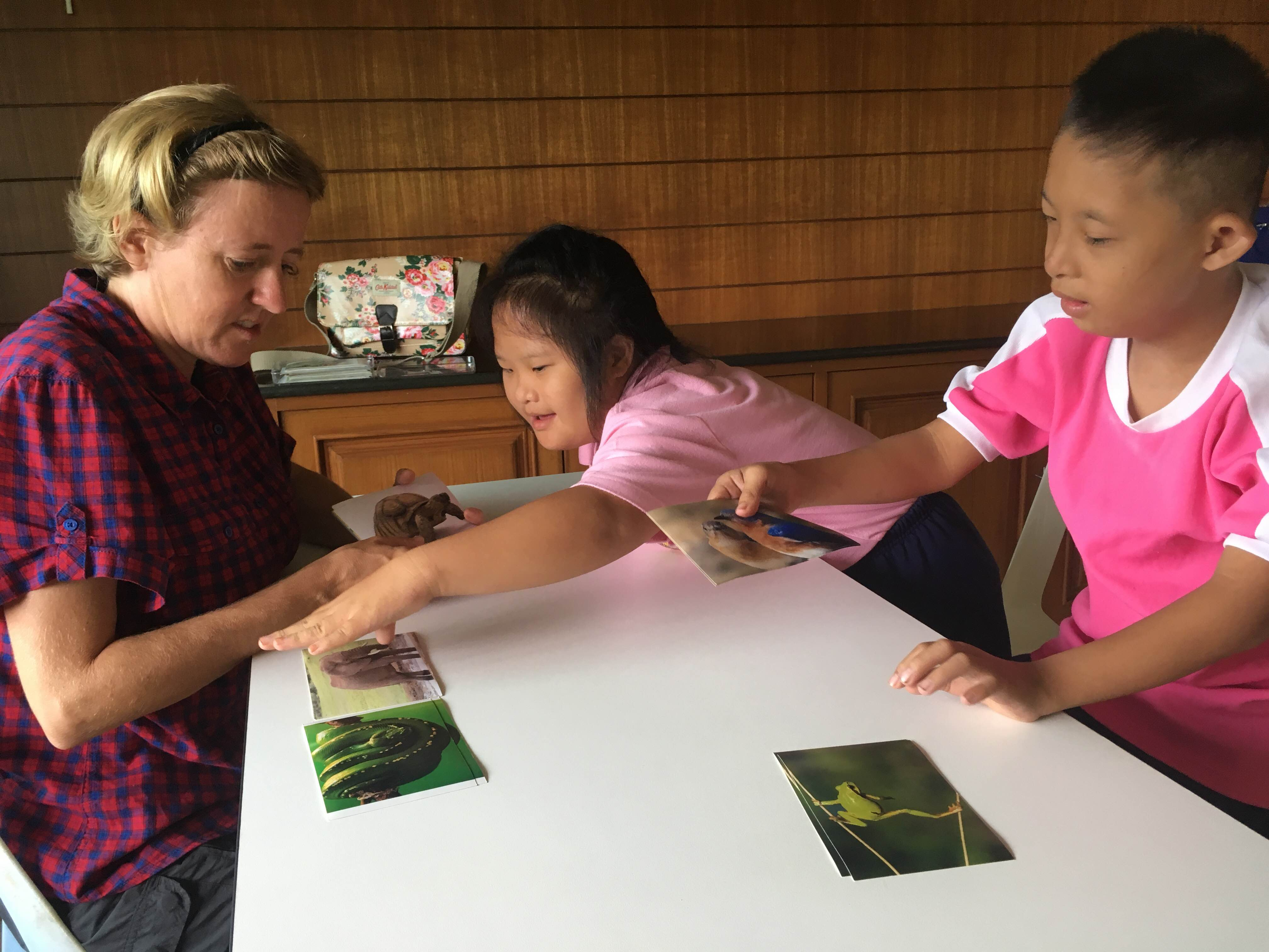 Kleine stapjes in Thailand