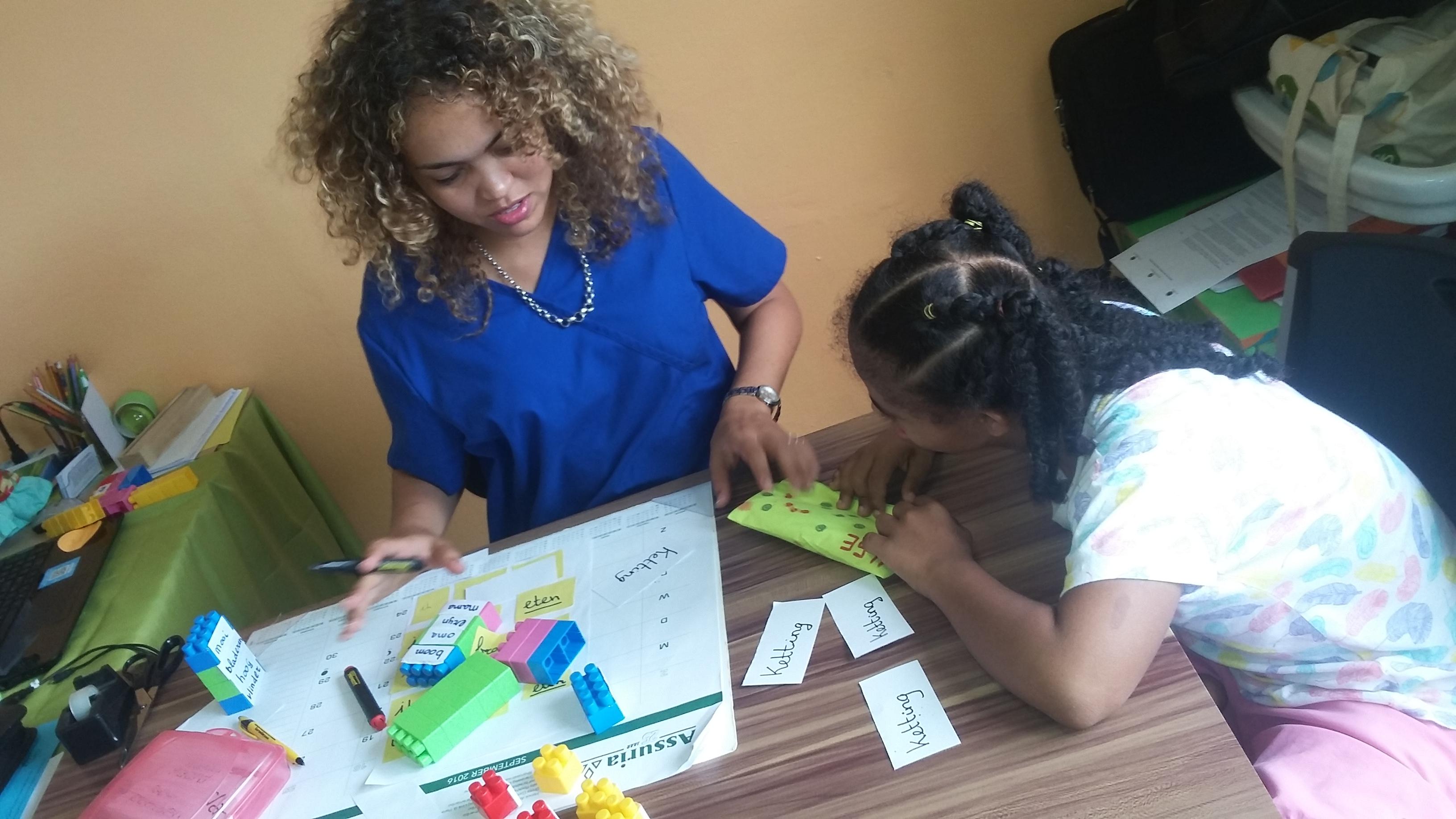 Leespraat in Suriname