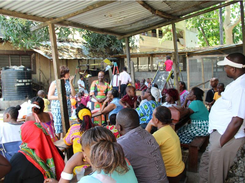 Start ouderorganisatie in Mombasa